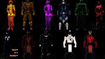 "Mortal Kombat ""DLC CHARACTER PACK - SYMBIOTES установка через DLC Manager 2.6 Beta"""