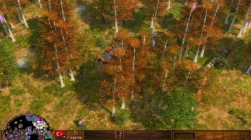 """Age Of Empires 3 """"Сценарий - Forest River"""""""