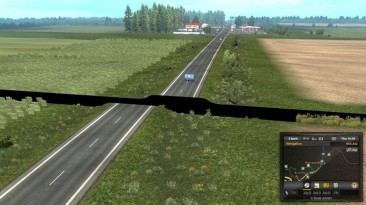 """Euro Truck Simulator 2 """"Фикс совмещения SZM Addon и дополнения Петербург и Выборг v0.1 ETS2 1.36.x"""""""