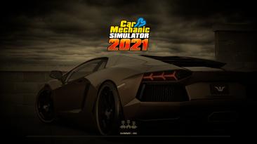 """Car Mechanic Simulator 2021 """"Реальные машины на загрузочный экран"""""""