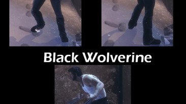 "X-Men Origins ""Black Wolverine"""