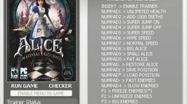 Alice - Madness Return: Трейнер (+15) [All Versions] {h4x0r}