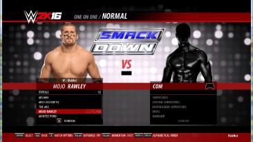 """WWE 2k16 """"Mojo Rawley 2k17, 2k19 порт"""""""