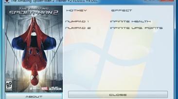 The Amazing Spider-Man 2: Трейнер/Trainer (+2) [1.0.0.1 +4 DLC] {GRIZZLY / PlayGround.ru}