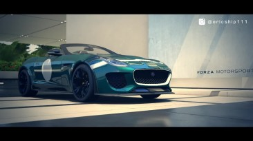 "Forza Motorsport 6 ""Jaguar F-type R Coupe vs Jaguar F-TYPE Project 7 Drag Race"""