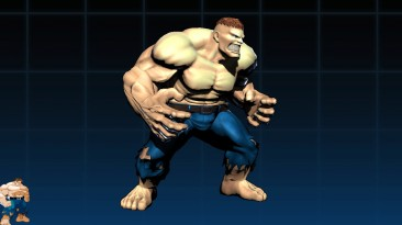 "Ultimate Marvel vs. Capcom 3 ""Человеческий Халк"""