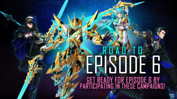 Phantasy Star Online 2 представляет новую коллекцию Ultimate Trinity