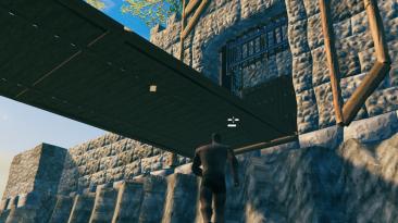 Большие ворота и двери