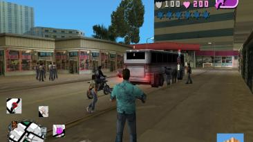 "Grand Theft Auto: Vice City ""Good Hud"""