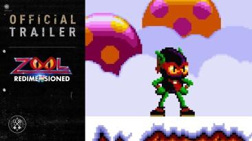 Анонсирована Zool Redimensioned: возвращение культового маскота 90-х