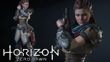 "Resident Evil 3 ""Элой из Horizon Zero Dawn"""