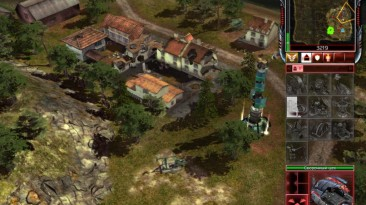 "Command & Conquer 3: Tiberium Wars ""Карта - Treeze Island"""
