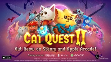 Стала известна дата выхода Cat Quest 2 на Nintendo Switch