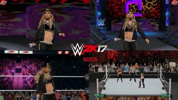"WWE 2K17 ""Carmella WWE 2K18 Port MOD"""