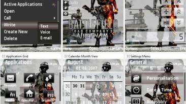 "Battlefield: Bad Company 2 Vietnam ""Тема для Nokia S60 3rd"""