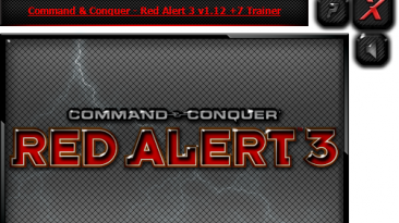 Command & Conquer: Red Alert 3 - Origin Ultimate Edition: Трейнер/Trainer (+7) [1.12] {iNvIcTUs oRCuS / HoG}