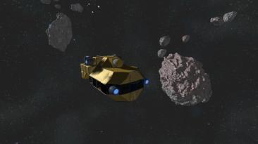 """Space Engineers """"Реплейсер Жёлтого корабля"""""""