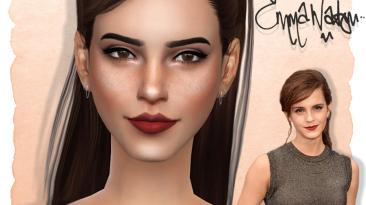 """The Sims 4 """"Эмма Уотсон"""""""