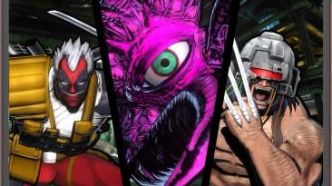 Ultimate Marvel vs. Capcom 3 - Все скины персонажей в победных стойках