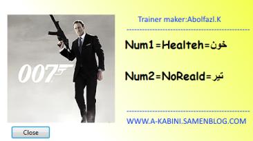 Quantum of Solace: The Game: Трейнер/Trainer (+2) [1.0] {Abolfazl.k}