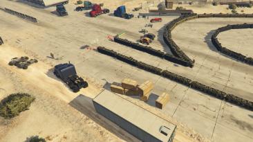 """Grand Theft Auto 5 """"Desert Race Map"""""""