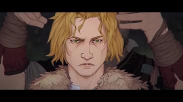 """""""Ash Of Gods: Tactics"""" - игра в визуальном стиле """"Banner Saga"""" с элементами ККИ появилась на iOS"""