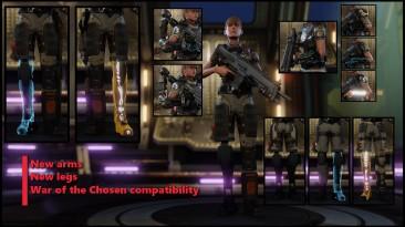 """XCOM 2 """"[WOTC] Augments: XCOM Prosthetics"""""""