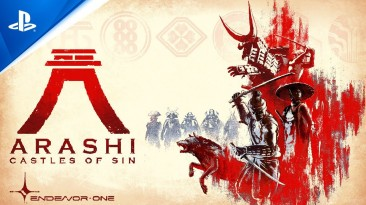 Волчица и шиноби в мире-песочнице - Sony представила трейлер Arashi: Castles of Sin