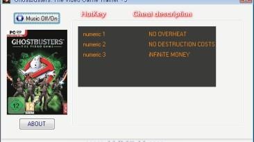 Ghostbusters: Трейнер (+3) [2.0.1.0] {H4XX0R}