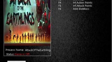 Attack of the Earthlings: Трейнер/Trainer (+5) [1.0.6] {MrAntiFun}
