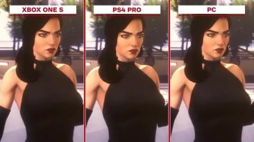 Agents of Mayhem Сравнение графики Xbox One S vs. PS4 Pro vs. PC (IGN)