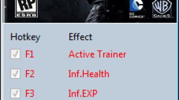 Batman: Arkham Origins ~ Initiation: Трейнер/Trainer (+8) [1.0] {MrAntiFun}