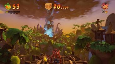 Бандикуты споткнулись на мыле: Скриншоты Switch-версии Crash Bandicoot 4
