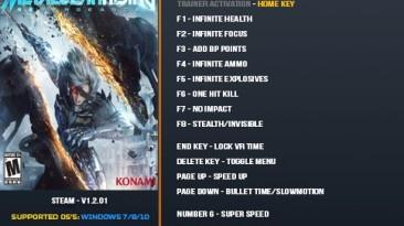 Metal Gear Rising: Revengeance: Трейнер/Trainer (+24) [1.2.01] {LinGon}