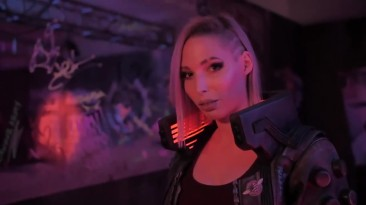 Cyberpunk 2077 - Косплей с Е3 2019