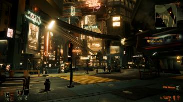 """Cyberpunk 2077 """"Пресет на основе Deus Ex"""""""