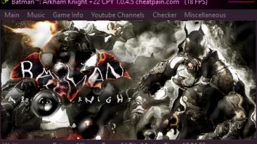 Batman: Arkham Knight: Трейнер/Trainer (+22) [1.0.4.5] {h4x0r}