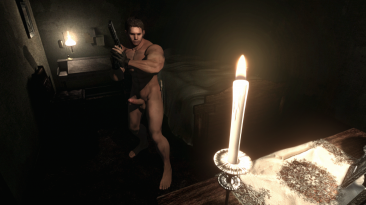 """Resident Evil HD Remastered """"Nude Chris Redfield """"BSAA"""""""" [Голый Крис]"""