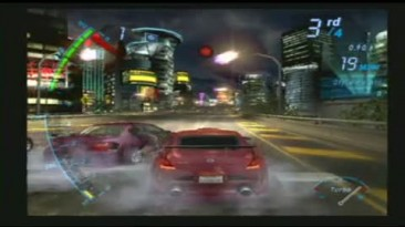 NfS Underground Gameplay Movie