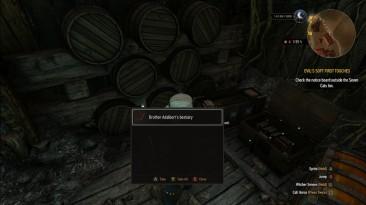 """Witcher 3: Wild Hunt """"Редкие предметы светятся как Квестовые предметы"""""""