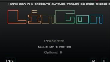 Game of Thrones: Трейнер/Trainer (+8) [1.3.0.0] {LinGon}