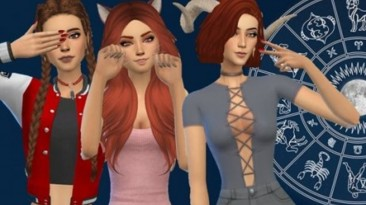 """The Sims 4 """"Знаки зодиака"""""""