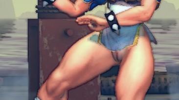 """Super Street Fighter 4 """"Chun-Li & Makoto sexy"""""""