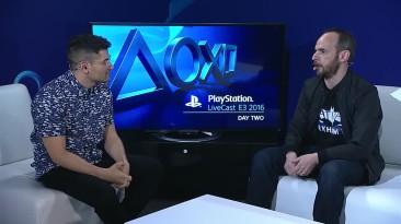 Batman: Arkham VR - E3 2016 LiveCast - Интервью с Сефтоном Хиллом