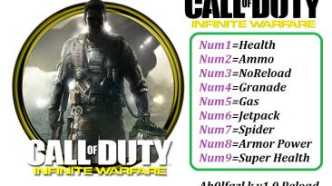 Call of Duty: Infinite Warfare: Трейнер/Trainer (+9) [1.0: x64] {Abolfazl.k}