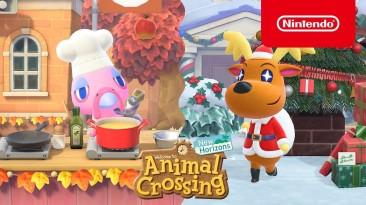 Праздничные события и множество нового контента в зимнем обновлении для Animal Crossing: New Horizons