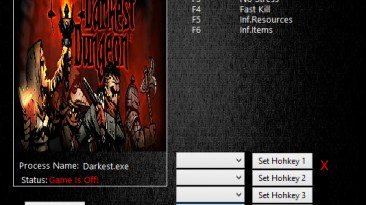 Darkest Dungeon: Трейнер/Trainer (+6) [Build 24357] {MrAntiFun}