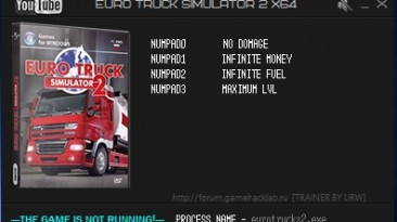 Euro Truck Simulator 2: Трейнер/Trainer (+4) [1.20.0.2: 32 & 64 Bit] {LIRW / GHL}