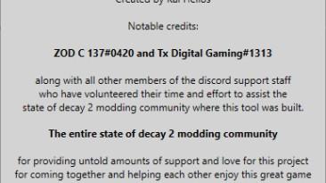 State of Decay 2: Редактор Сохранений / Save Editor (Community Editor Version 4.1.24)