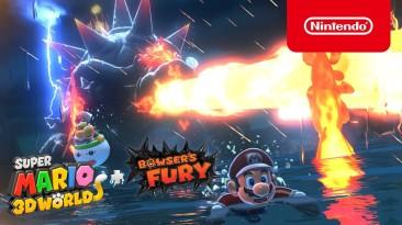 """""""Праздник для фанатов Марио"""": Вышел хвалебный трейлер платформера Super Mario 3D World + Bowser's Fury"""